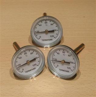 Termovar Thermometer 0-120°C / 3 Stück (6527#