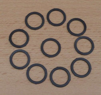 Gummi-Dichtung für Perlstrahlregler M 22 / 10 Stück (9575#