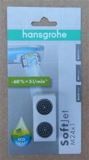 Hansgrohe EcoSmart Softjet 5 ltr./min./ M24x1 / 2 Stück (8238#