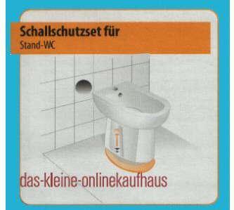 Schallschutzset für Ihr Stand WC (917#