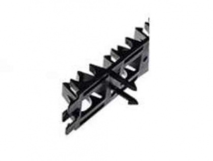 Klemmschiene Montageschiene mit Haken 16 -22mm / 1m Länge kürzbar (10044# - Vorschau
