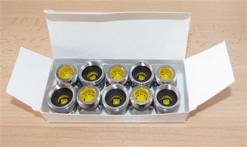 Neoperl ® Mengenregler für Duschen 10.0 Ltr. / Min. gelb 10Stk.(7350#