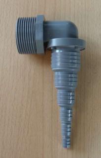 "Pumpenwinkel universal = 1 1/4"" AG x 32-8mm PVC (9571#"