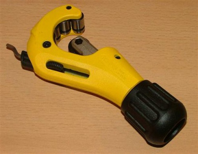 Rohrschneider RAS CU - INOX 3mm-35mm REMS gelb (5063#
