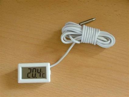 Digitalthermometer bis -40 bis +110°C ohne Rahmen(4269*