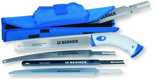 BERNER Handsägen-Set, 6-teilig mit Textiltasche (7686# - Vorschau