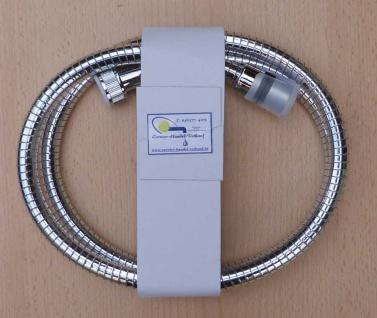 Brauseschlauch Kunststoff, MY- Flex 1250 mm, chrom verdrehsicher (8745#