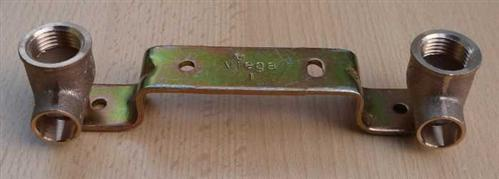 "Montageeinheit gekröpft 15mm x 1/2"" x 150mm (8530#"