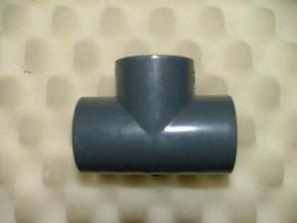 PVC-Druckfittings T-Stück 90°, 3x Klebemuffe - Vorschau 1
