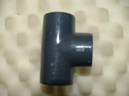 PVC-Druckfittings T-Stück 90°, 3x Innengewinde