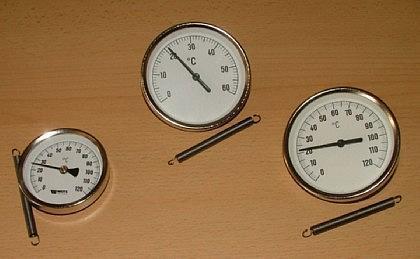 Anlegethermometer - Bimetall - Vorschau 1