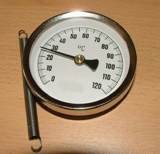 Anlegethermometer - Bimetall - Vorschau 2