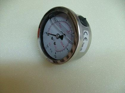Glyzerin - Manometer nach EN 837-1 / Axial - Vorschau 2