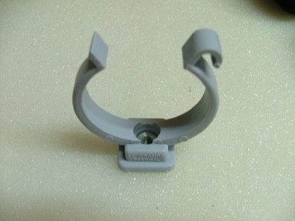 PVC-Druckfittings Kunststoff-Rohrclip einfach