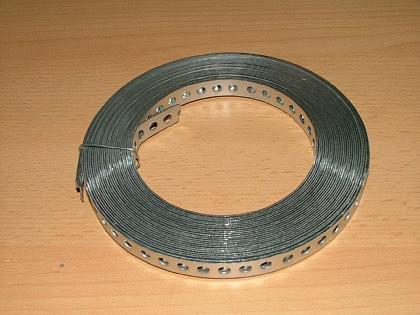 Lochband - Stahl verzinkt oder Kunststoffummantelt - Vorschau 1