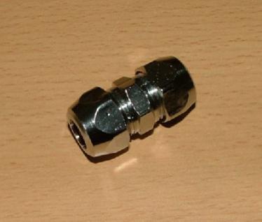 Fitting-Verchromt, Doppelnippel-Verschraubung - Vorschau
