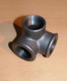 Winkelverteiler - Fitting-Schwarz IG / IG / IG - Vorschau