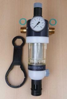 Hauswasserstation mit Druckminderer inkl.Flansch+Manometer, 1 Zoll (9190#