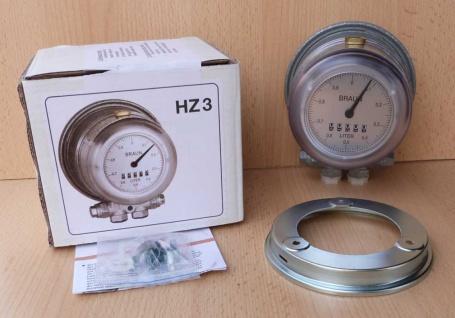Heizölzähler Braun HZ3 / Werksgeprüft / Neuware (4336#