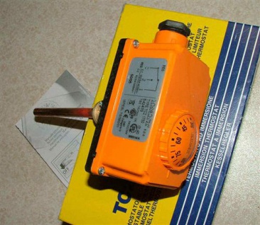 Tauchthermostat IMIT Außenverstellung 100 mm (2576#