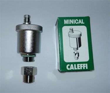 """Schnellentlüfter Caleffi Minical® 1/2"""" mit autom. Absperrhahn (7720# - Vorschau"""