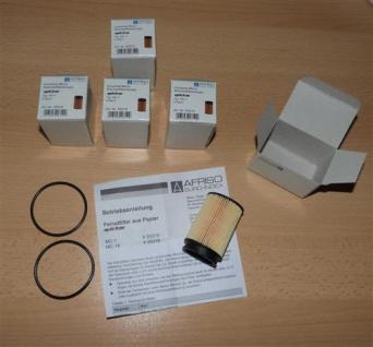 Heizölfilter Opticlean MC 7 Sparpaket + 2Gummis für Filtertasse (6622#