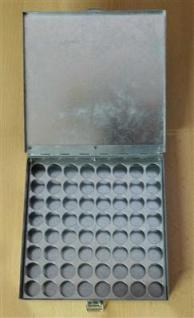 Düsenkoffer für Ölbrennerdüsen Metall für 64 Stck.(6723#