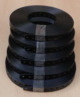 Lochband plastummantelt 5 Stk. / 19mm Breite / 10m auf Rolle (8120#