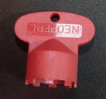 Perlatorschlüssel® Serviceschlüssel Caché JR rot passend für 21, 5x1 (6777#