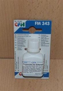 Flußmittel für Silberlote, 25g Flasche CFH (5914# - Vorschau