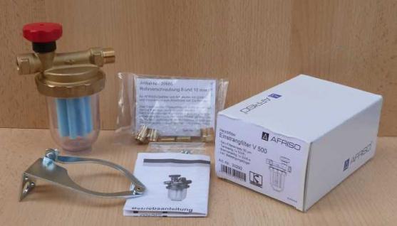 Heizölfilter / Einstrangfilter V 500 / Vorfilter / Afriso (8504#