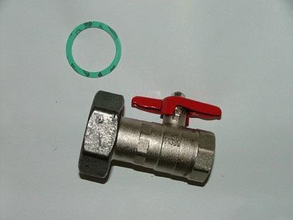 Pumpenkugelhahn mit Schwerkraftbremse - Vorschau
