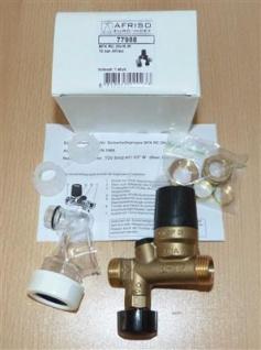 Sicherheitsgruppe AFRISO BFK 12/10 RC DN 15 ( Ø15mm) für Boiler (7461#