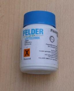 Hartlötflußmittel für Silberlote / 100gr. Felder (1345#