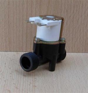 Magnetventil mit Magnetspule, mini mit 2 Steckkontakten (8329#