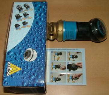 Zirkulationspumpe VORTEX BWZ 152R mit Schaltuhr (4904#