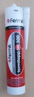 Fermit HN 300 Hochtemperatur Silikon Farbe weiß /neutralvernetzt 310ml (7880#