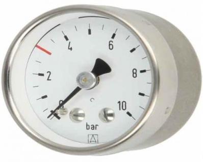 """Rohrfeder-Sondermanometer ø 40 D311S 1/8"""" axial Markierung bei 3bar (10699#"""