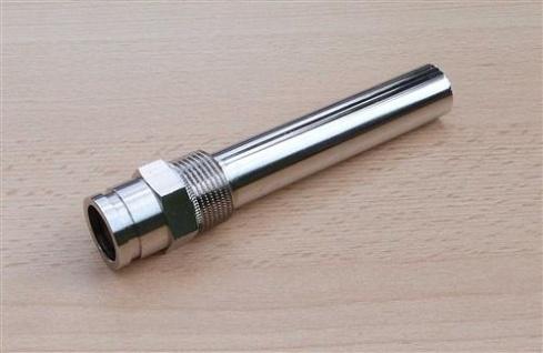 """Tauchhülse Messing vernickelt 3/4"""" AG x L=110mm x InnenØ=19, 5 mm (7998# - Vorschau"""