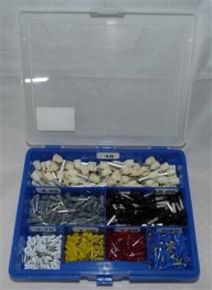 Ader-Endhülse isoliert je 100 Stück sortiert in Klarsichtbox (7454# - Vorschau