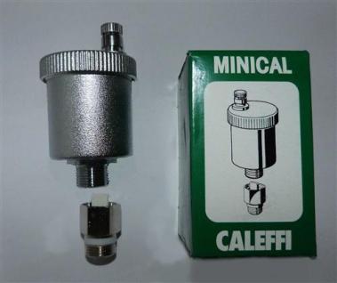 """Schnellentlüfter Caleffi Minical® 3/8"""" mit autom. Absperrhahn (7719#"""