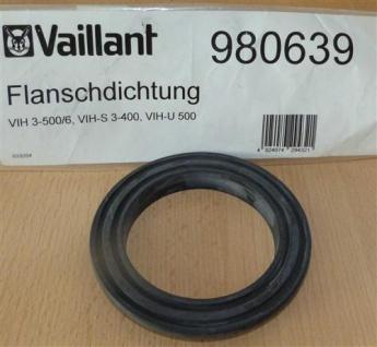 Flanschdichtung Vaillant 980639 VIH 3-500/6, VIH-S 3-400, VIH-U (7524#