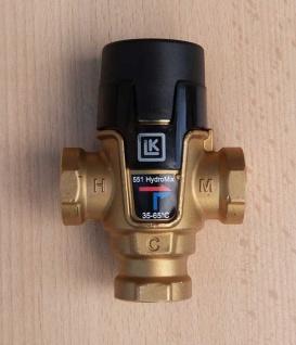 """Mischventil 35 - 65°C / 1/2"""" IG / LK 551 HydroMix (9017#"""