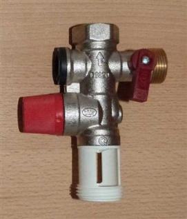 """Sicherheitsgruppe ORKLI 3/4"""" für Trinkwasser rote Serie 21170MP (5851#"""
