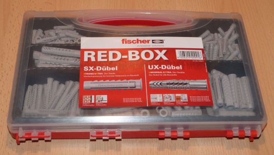 Fischer Profidübel-Sortimentskoffer SX + UX Dübel (9953#