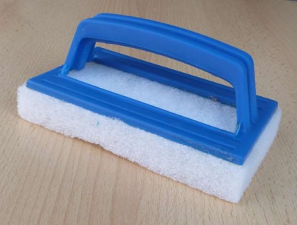 Reinigungsschwamm mit Handgriff für Pool (9605#