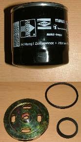 Set mit Adapter + Spezial Ersatzwechselfilter (4813# - Vorschau