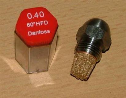 Ölbrennerdüse Danfoss Stahldüse Hohlkegel (HFD) (4743#