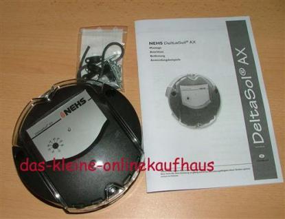 Tempeaturdifferenzsteuerung DeltasSol AX / OVP (817* - Vorschau
