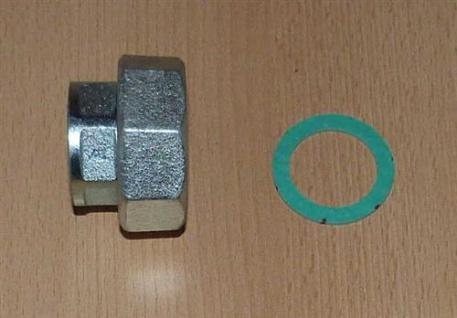 """Pumpenverschraubungssatz Stahl 2Stk. 11/2""""Überw.x 1"""" IG (5913#"""